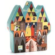Puzzle Djeco - Castelul fantastic