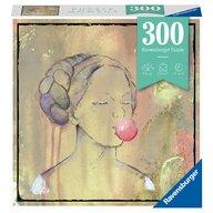 Ravensburger - Puzzle abstract Doamna cu balon din guma Puzzle Copii, piese 300