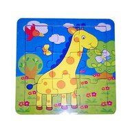 MamaMemo - Puzzle educativ girafa, 18m+