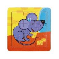 MamaMemo - Puzzle educativ soricel, 18m+