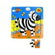 MamaMemo - Puzzle educativ Zebra, 18m+