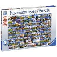 Ravensburger - Puzzle Europa 99 Locuri, 3000 piese