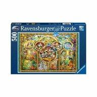 Ravensburger - PUZZLE FAMILIA DISNEY, 500 PIESE