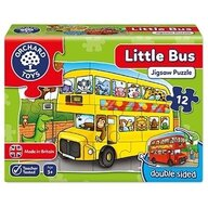 Orchard Toys - Puzzle fata verso Autobuz, 12 piese