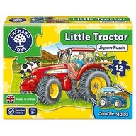 Orchard Toys - Puzzle fata verso Tractor, 12 piese