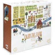 Londji - Puzzle animale Ferma , Puzzle Copii, piese 100