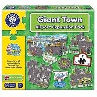 Orchard Toys - Puzzle gigant de podea Aeroport, 9 piese