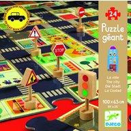 Djeco - Puzzle gigant Orasul