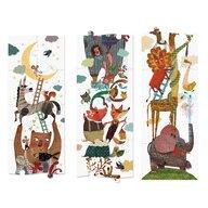 Londji - Puzzle animale Sus pana la luna , Puzzle Copii , Gigant, piese 24