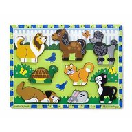 Melissa & Doug Puzzle In Relief Animale De Companie
