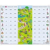 Larsen - Puzzle Invatam Limba Engleza nr12  54 Piese