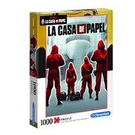 Clementoni - Puzzle personaje La casa de papel  , Puzzle Adulti, piese 1000, Multicolor