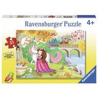 Ravensburger - Puzzle La plimbare, 35 piese