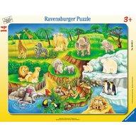 Ravensburger - Puzzle La zoo, 14 piese
