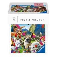 Ravensburger - Puzzle animale Lama , Puzzle Copii, piese 99