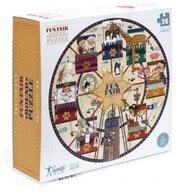 Londji - Puzzle animale Carusel , Puzzle Copii, piese 36