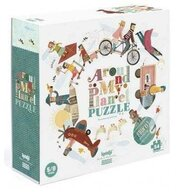 Londji - Puzzle educativ Harta lumii , Puzzle Copii, piese 54