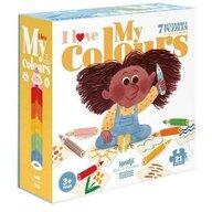 Londji - Puzzle educativ Iubim culorile , Puzzle Copii, piese 21