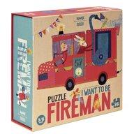 Londji - Puzzle educativ Pompieri , Puzzle Copii, piese 36