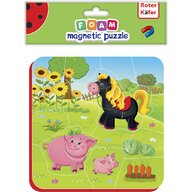 Roter Kafer - Puzzle magnetic Ferma  RK5010-06