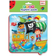 Roter Kafer - Puzzle magnetic Pirati  RK5010-01