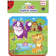 Roter Kafer - Puzzle magnetic Pisicute  RK5010-05