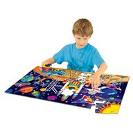 THE LEARNING JOURNEY - Puzzle de podea In spatiu Mare Puzzle Copii, piese 50