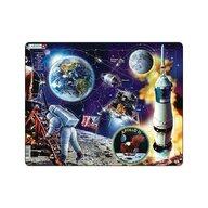 Larsen - Puzzle maxi Apollo 11  orientare tip vedere  50 de piese