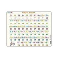 Larsen - Puzzle maxi Numere intre 1 si 58 si scaderi, orientare tip vedere, 58 de piese,