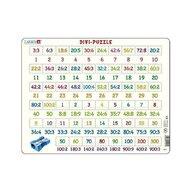 Larsen - Puzzle maxi Numere intre 1 si 900 si impartiri, orientare tip vedere, 58 de piese,