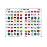Larsen - Puzzle maxi Steaguri, orientare tip vedere, 80 de piese,