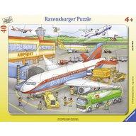 Ravensburger - Puzzle Mic aeroport, 40 piese