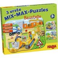 Haba -Puzzle mix, Santierul, 2 ani+
