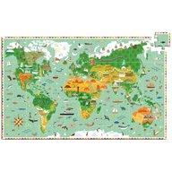 Djeco - Puzzle observatie In jurul lumii