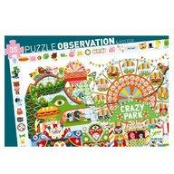 Djeco - Puzzle observatie Parcul de distractii