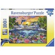 Ravensburger - Puzzle Paradis tropical, 100 piese