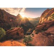 Ravensburger - Puzzle peisaje Parcul national Zion SUA Puzzle Adulti, piese 1000