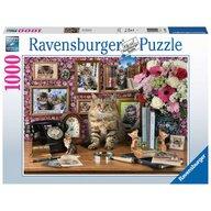 Ravensburger - Puzzle animale Pisicuta draguta , Puzzle Copii, piese 1000