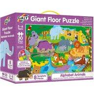Galt - Puzzle de podea Alfabetul animalutelor , Puzzle Copii, piese 30