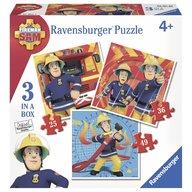 Ravensburger - Puzzle Pompier Sam, 25/36/49 piese
