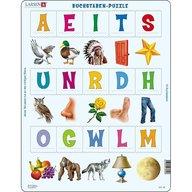 Larsen - Puzzle Primele cuvinte in limba germana, 15 piese