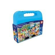 Kidz Delight - Puzzle printesele Disney World 100 piese