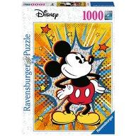 Ravensburger - Puzzle personaje Retro Mickey , Puzzle Copii, piese 1000