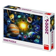 Dino Toys - Puzzle Sistemul Solar 2000 piese