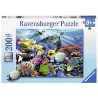 Ravensburger - Puzzle Testoase de ocean, 200 piese