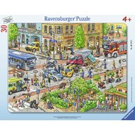 Ravensburger - Puzzle tip rama Accident, 30 piese