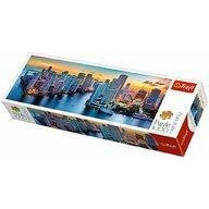 Trefl - Puzzle orase Miami la apus , Puzzle Copii , Panorama, piese 1000