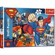 Trefl - Puzzle personaje Superman , Puzzle Copii, piese 200