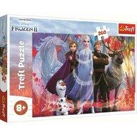 Trefl - Puzzle personaje Frozen 2 In Cautarea Aventurii , Puzzle Copii, piese 260