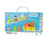Dodo - Puzzle - Trenuletul alfabetului (21 piese)